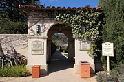 Archways Photo Posters - Chateau St. Jean Winery 5D22197 Poster by Wingsdomain Art and Photography