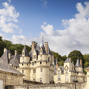 Loire Valley Posters - Chateau Usse Loire Valley France Poster by Colin and Linda McKie