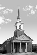 Private Prints - Chatham University Campbell Memorial Chapel Print by University Icons