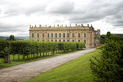 Peak District Framed Prints - Chatsworth House Framed Print by Christopher and Amanda Elwell