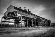 Chimneys Framed Prints - Chattanooga Abandoned Warehouse 1 Framed Print by Douglas Barnett