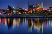 Tennessee Landmark Prints - Chattanooga Aquarium Print by Mountain Dreams