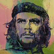 Marxism Framed Prints - Che Guevara Framed Print by Michael Creese