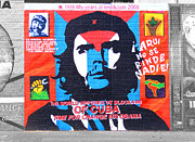 Marxism Framed Prints - Che Guevara Framed Print by Nina Ficur Feenan