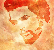 Ernesto Guevara Posters - Che In Brown Poster by Dishan Anuradha