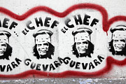 Che Guevara Prints - Che the Chef Guevara Print by James Brunker