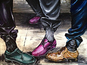 Gators  Paintings - Check Out Da Shoes by Ka-Son Reeves