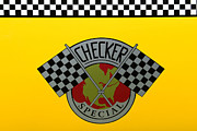 Classic Nyc Posters - Checker Special Marathon Taxi Poster by Paul Ward