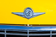 Checker Framed Prints - Checker Taxi Cab Emblem Framed Print by Jill Reger