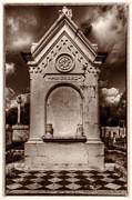 Kathleen K Parker - Checkerboard Masonic Tomb NOLA