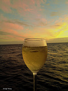Boat Cruise Photo Prints - Cheers Print by Cheryl Young