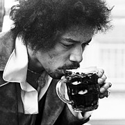 Jimi Hendrix Photos - Cheers Jimi by Chris Walter