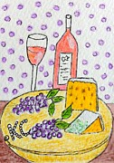 Kathy Marrs Chandler - Cheese and Wine
