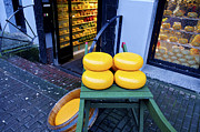 Amsterdam Digital Art - Cheese by Pravine Chester