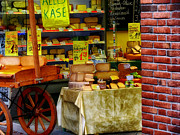 Cheeses Photo Posters - Cheese Shop in Holland Poster by Mountain Dreams