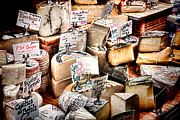 Cheese Shop Prints - Cheese Shop Print by Olivier Le Queinec