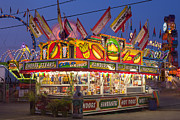 Event Photo Prints - Cheese Steaks and Corn Dogs Print by Clarence Holmes