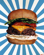 Burger Originals - Cheeseburger by Kelly Gilleran