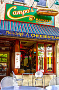 Phillie Framed Prints - Cheesesteak Framed Print by Frank Savarese