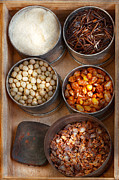 Spice Box Prints - Chef - Food - Health food Print by Mike Savad