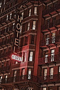 Actors Prints - Chelsea Hotel Print by David Rucker