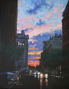 Peter Salwen - Chelsea - Sunset after a...