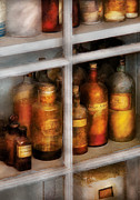Shelves Photo Prints - Chemist - Flavor Lab Print by Mike Savad
