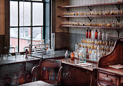 Lab Metal Prints - Chemist - Perfume Science  Metal Print by Mike Savad