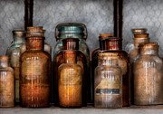 Professor Photos - Chemist - Various Chemicals by Mike Savad