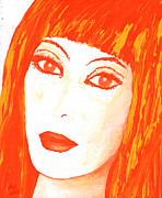 All-star Paintings - Cher All Or Nothing by Alys Caviness-Gober