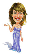 Saturday Night Live Paintings - Cheri Oteri by Art