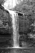 James Potts - Cherokee Falls in Black...