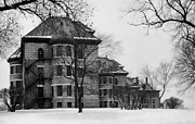 Mental Hospital Art - Cherokee Iowa Lunatic Asylum by Daniel Hagerman