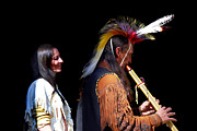 Tribe Photos - Cherokee Native American One by Skip Willits