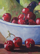 Cherries Print by John Clark