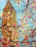 Washington D.c. Mixed Media - Cherry Blossom by Amanda R Wright