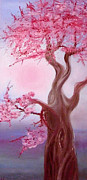 Cherry Blossoms Paintings - Cherry Blossom by Anya Vysotskaya