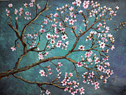 Nancy Bradley Painting Originals - Cherry Blossom by Nancy Bradley