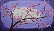 Kate Farrant Art - Cherry Blossom Time  by Kate Farrant
