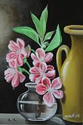 Cherry Blossoms Print by Gani Banacia