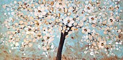 Cherry Blossoms Painting Originals - Cherry Blossoms by Jolina Anthony