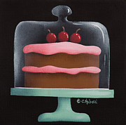 Catherine Originals - Cherry Chocolate Cake by Catherine Holman