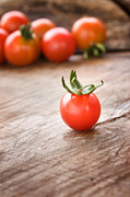 Mythja Photos - Cherry tomatoes background by Mythja  Photography