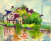 Padre Art Photos - Chesapeake and Ohio Canal 1916 by Padre Art