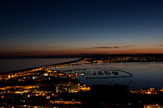 Chesil Beach Prints - Chesil at Night Print by Ray Allen
