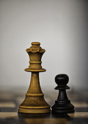 Chess Queen Posters - Chess Poster by Arisha Singh