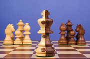 Chess Photo Prints - Chess Corporate Merger Print by Colin and Linda McKie