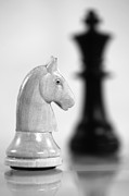 Chess Pieces Prints - Chess Print by Falko Follert