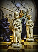 Chessmen Photos - Chess - The Sacrifice by Paul Ward