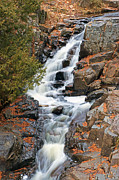 Duluth Photos - Chester Creek Waterfall by Bill Morgenstern